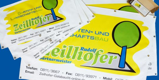 Garten und Landschaftsbau Rudolf Zeilhofer - Planen & Visitenkarten