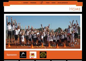 Paulo Escalona - Tennis Academy Webseite