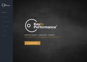 Key to Performance Webseite